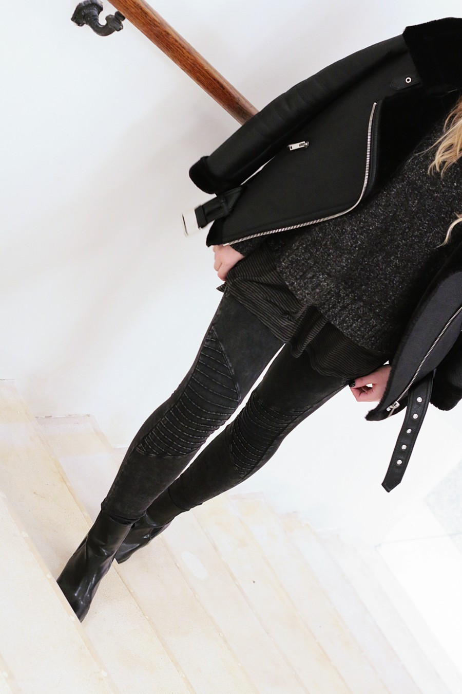 olivialsy_outfit_all_black_everything_zara_bikerjacke2